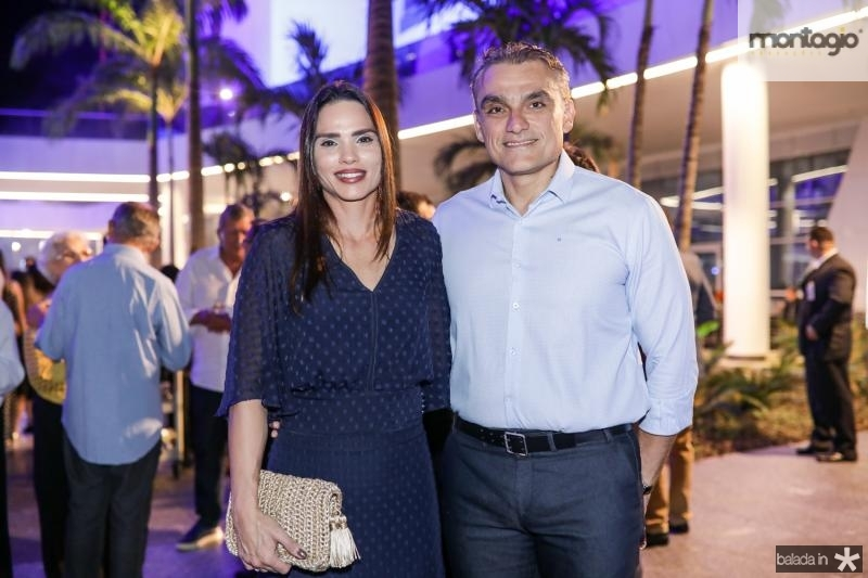 Patricia Studart e Josmario Cordeiro