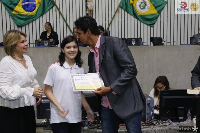 Albaniza Gomes, Manuela Almeida e Roberto Lopes