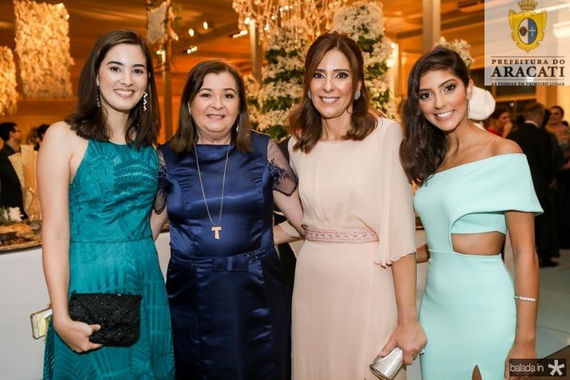 Mariana Santiago, Debora Santiago, Cristina Sleiman e Lia Filgueiras
