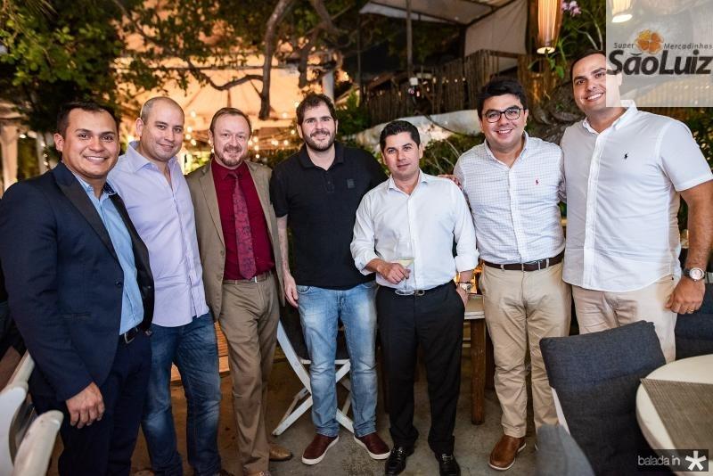 Caion Barbosa, Andre Linheiro, Francois Hautekeur, Eduardo Castelon, Pompeu Vasconcelos, Rolf Campos e Marcelo Gentil