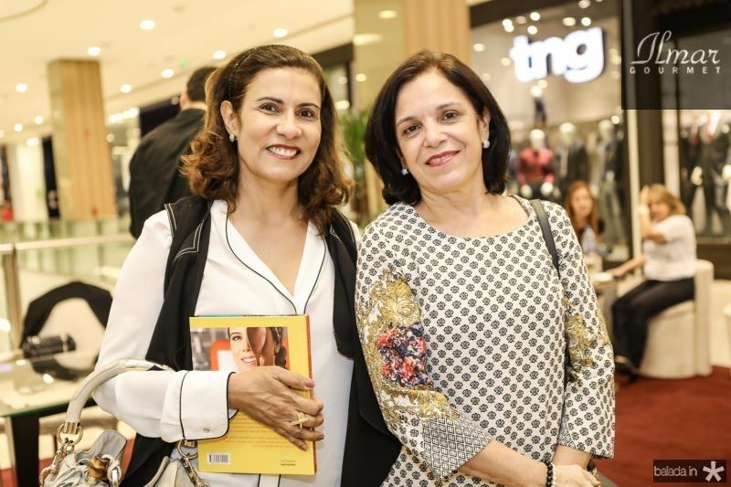 Marcia Teixeira e Eluza Laprovitera