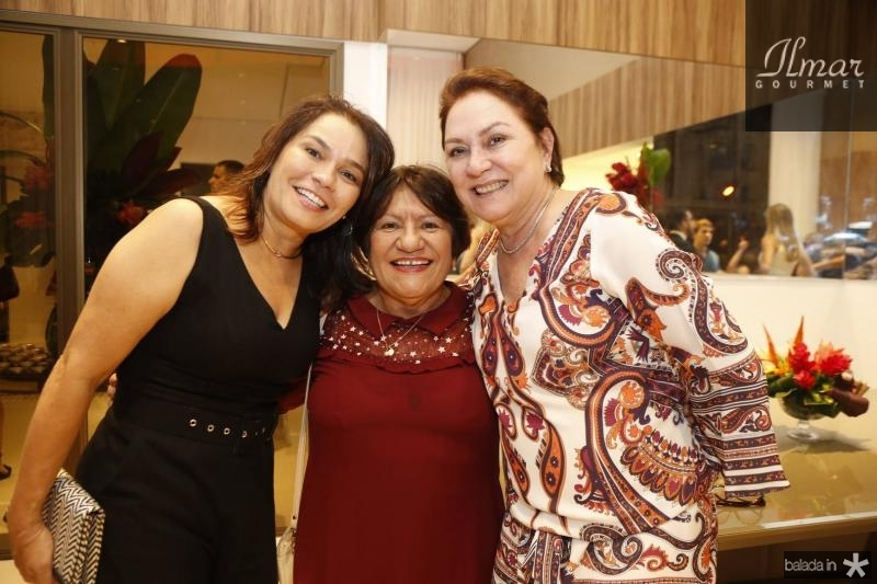 Margarida Alves, Aurenice Araujo e Paula Frota