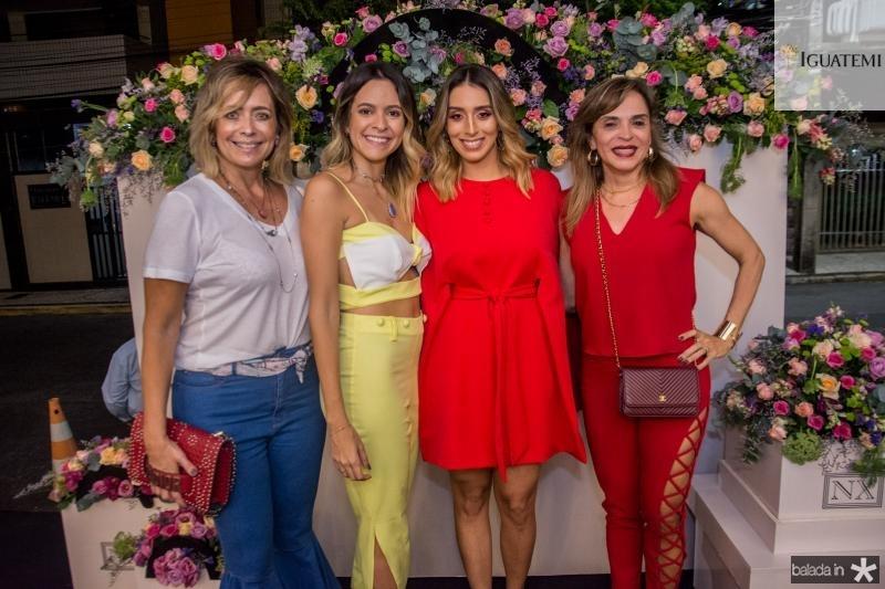 Andrea Fialho, Marilia Fialho, Nathalia Ximenes e Sonia Ximenes