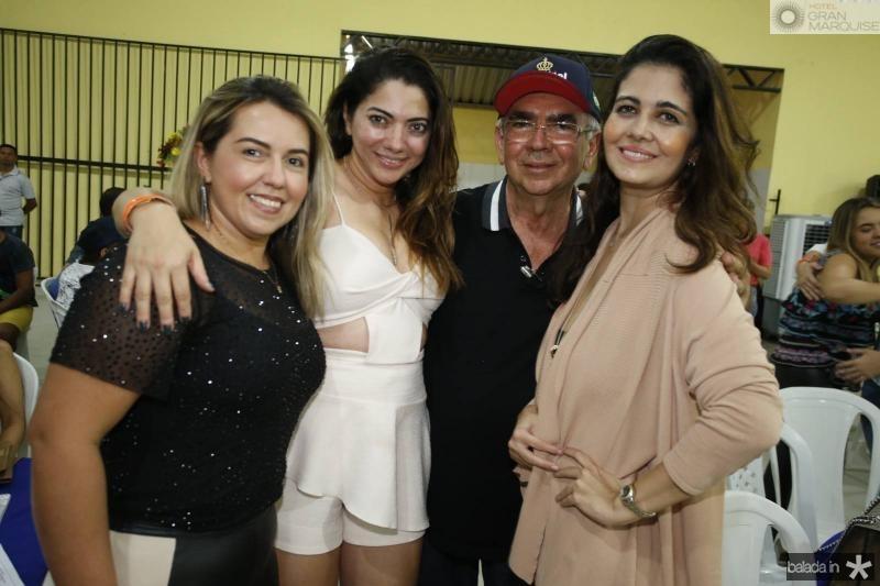 Elis Rejane, Uzerly Castelo Branco, Daniel Moreira e Ludmila Giunne