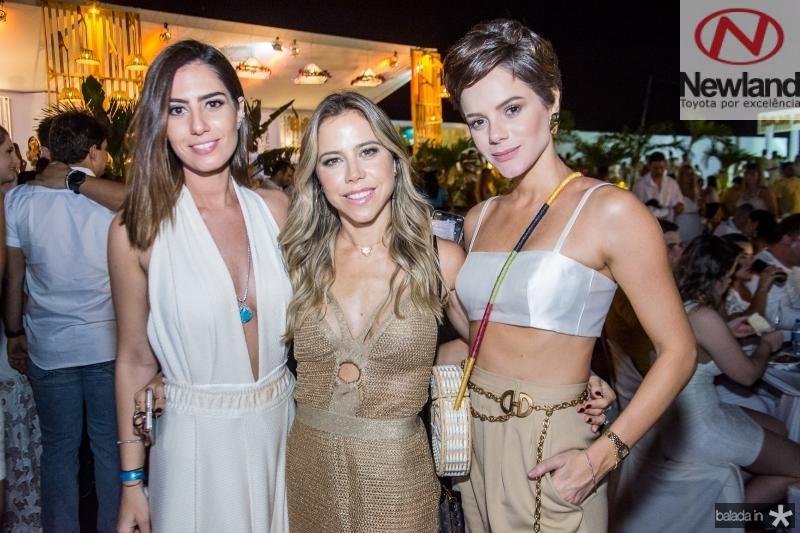 Nicole Pinheiro, Mirella Rocha e Paulina Sampaio