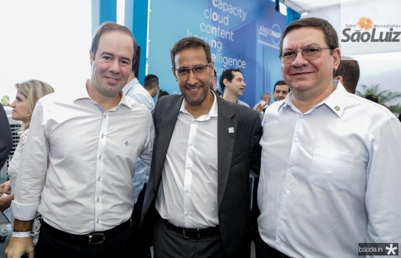Cesar Ribeiro, Antonio Nunes e Lucio Ferreira Gomes