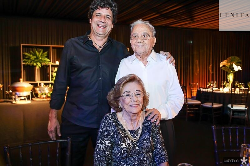 Pedro, Onivalda e Pedro Freitas