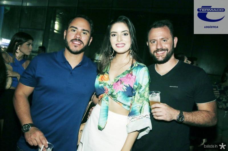 Danilo Tavares, Renatha Alves e Leandro Pedrosa