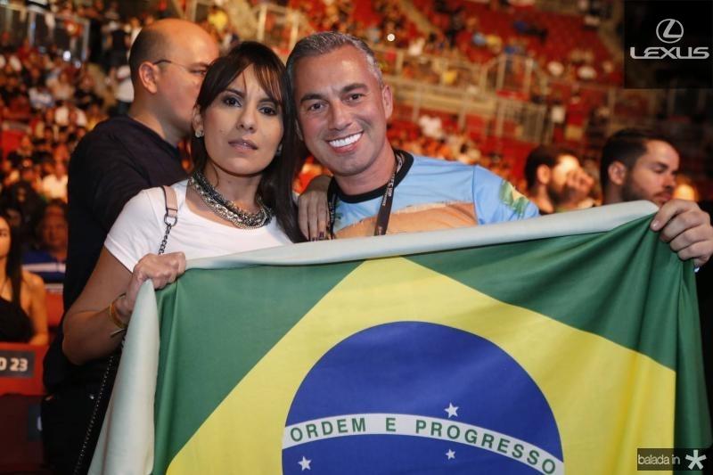 Bruna Nogueira e Marcelo Rian