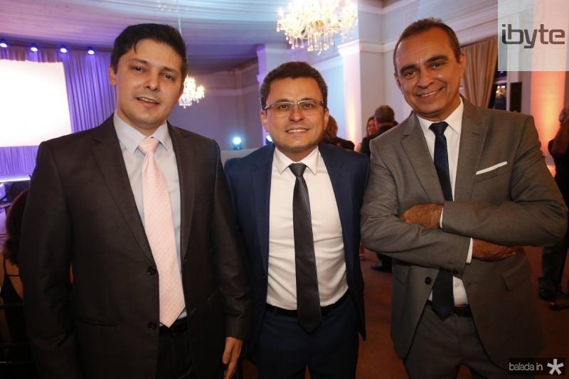 Daniel Rios, Adriano Muniz e Hervelt Cesar