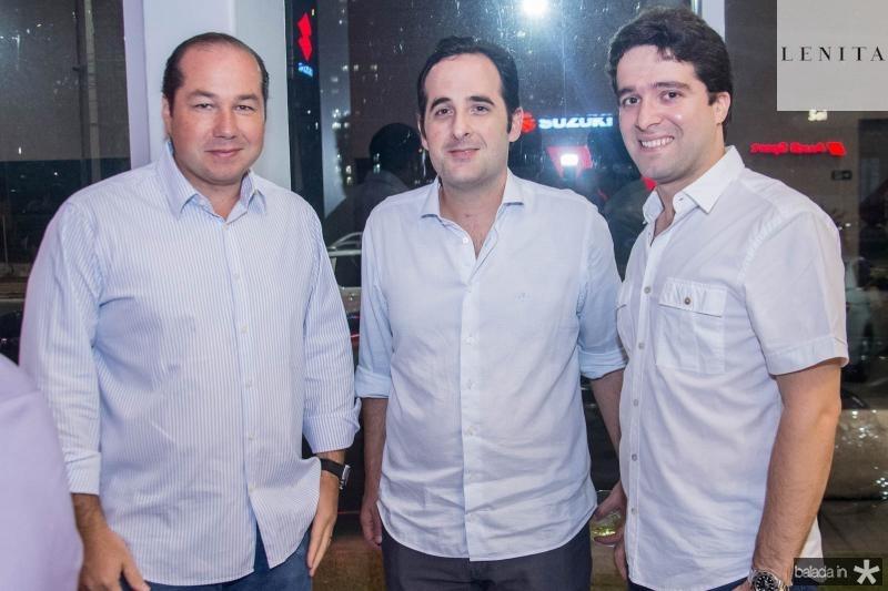Joquim Araujo, Leonardo Carneiro e Lucas Pontes
