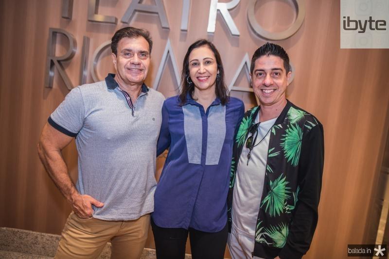 Mozoka, Renata Granjeiro e Marcio Correira