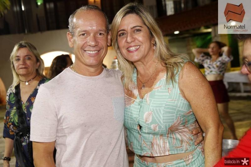 Beto Cavalcante e Ana Claudia Rego