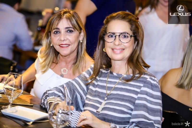 Ines Peixoto e Marcia Andrea