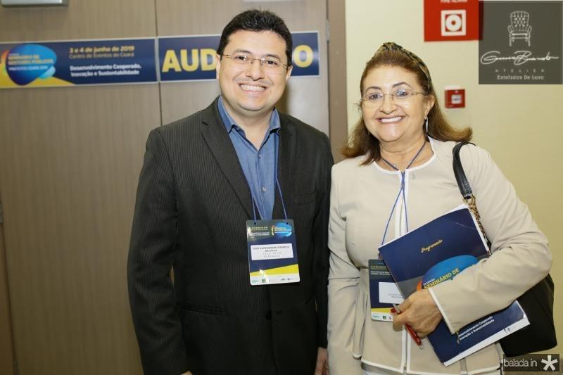 José Alecxssandre Fonseca e Luciene Guimarães