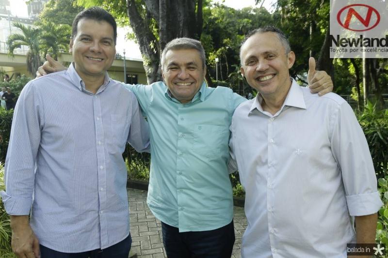 Esio Feitosa, Francisco Sales e Evaldo Lima