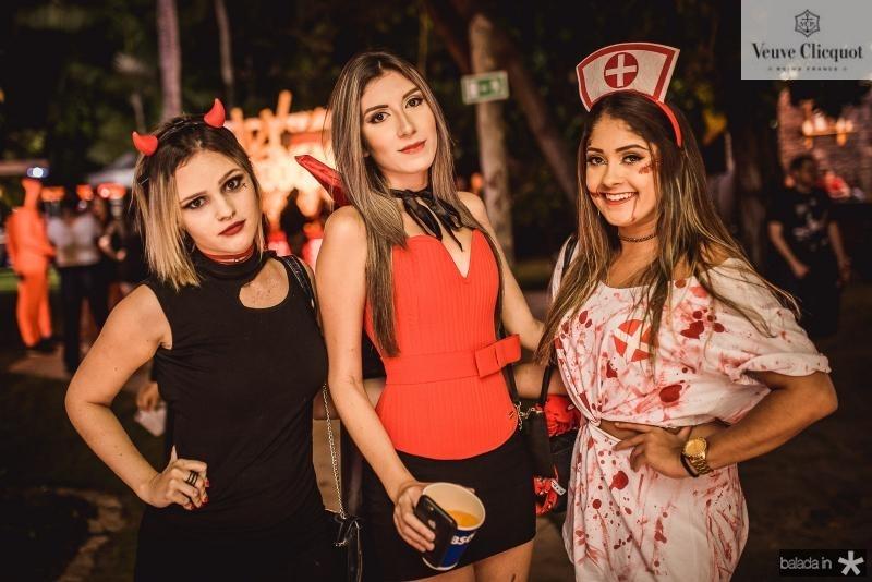 Larissa Freitas, Izabele Bezerra e Izabela Santos