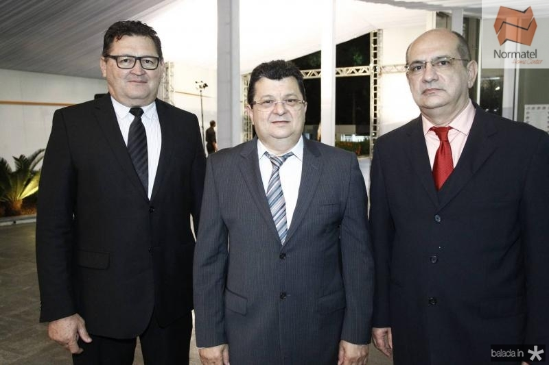 Francisco Guerra, Marcos Pinheiro e Ronaldo Costa