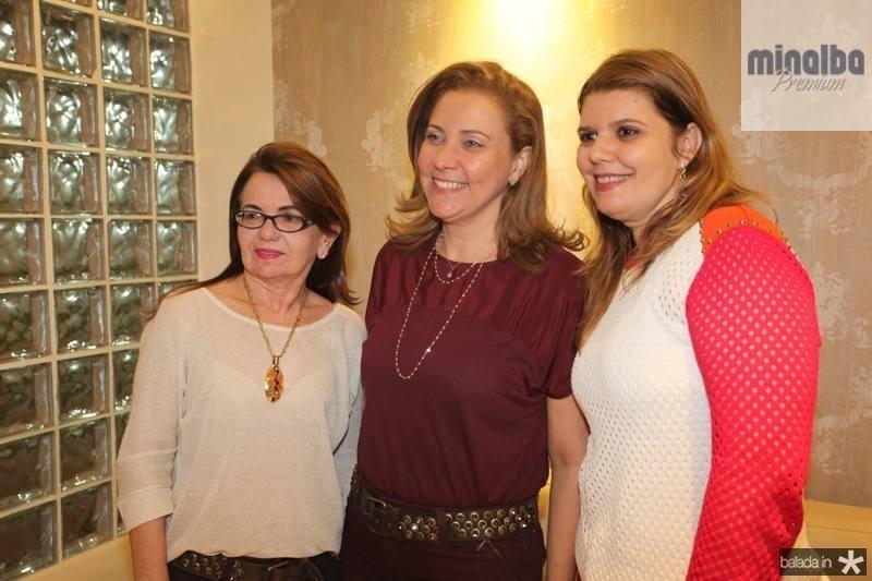 Sonia Praca, Andreia Delfino e Danielle Pinheiro