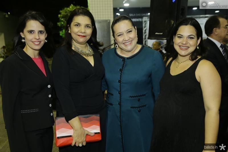 Eliana Marreiro, Celina Castro Alves, Norma Zelia e Itauana Ceribele