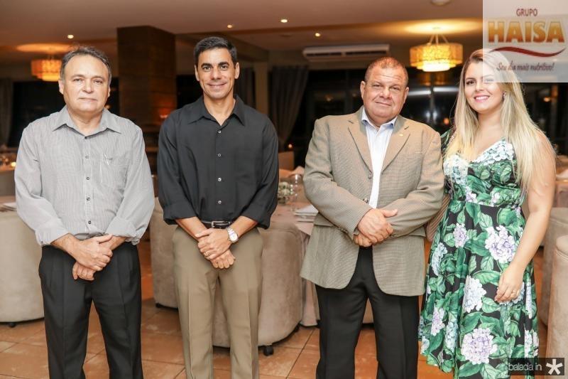Comandante Sales, Comandante Alexandre Silva, Carlos e Ivone Moura