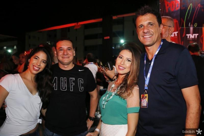 Juliana Lopes, Gabriel Noroes, Katiucia e Wellington Oliveira