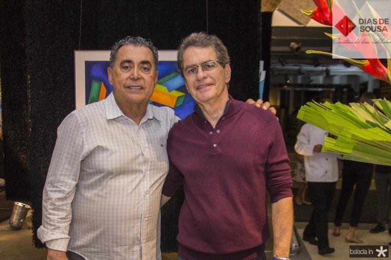 Adroaldo Carneiro e Cesar Fiuza