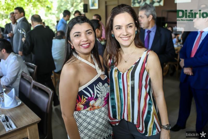 Andrea Oliveira e Natalia Studart