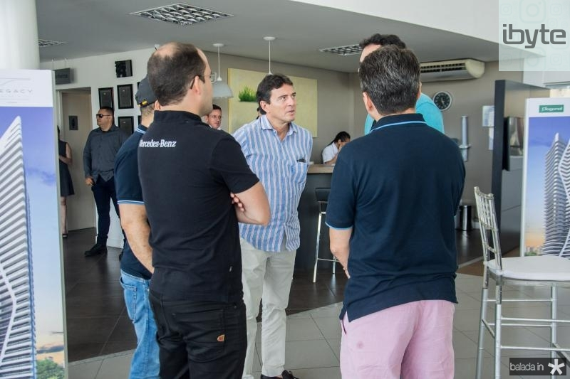 Eduardo Weinar, Luiz Teixeira e Joao fiuza
