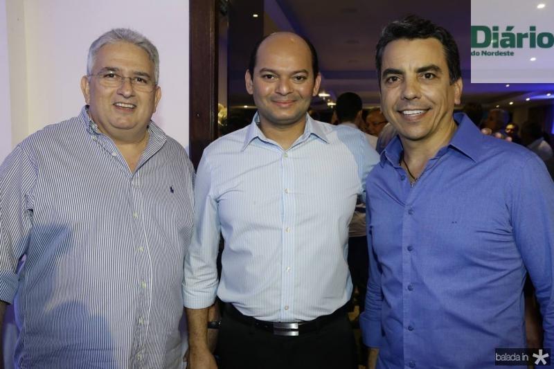 Francisco Barreto, Otilio Ferreira e Alexandre Frota