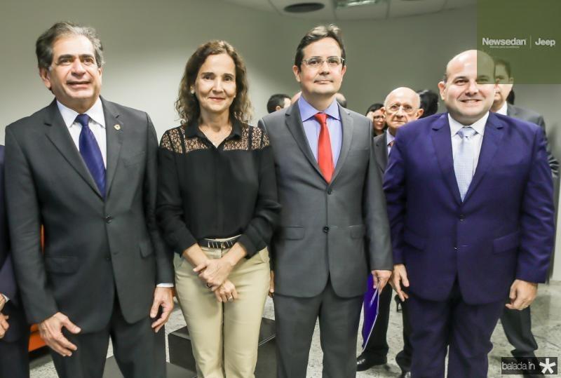 Gladyson Pontes, Zezinho Albuquerque, Edilberto Pontes e Roberto Claudio