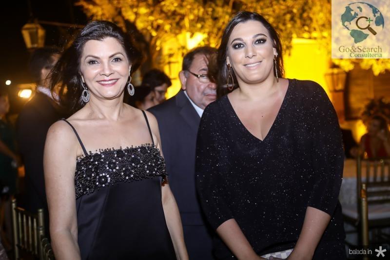 Liliana Farias e Viviane Bastos