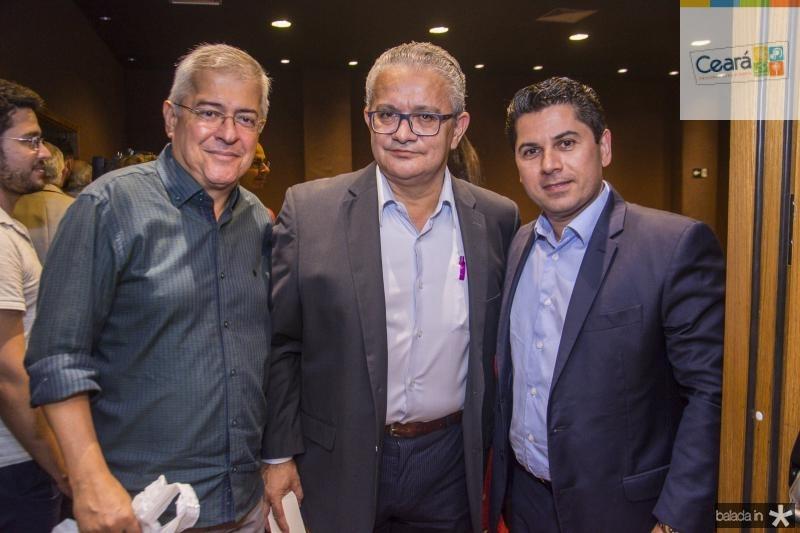 Paulo Cesar Noroes, Luis Sergio Santos e Pompeu Vasconcelos