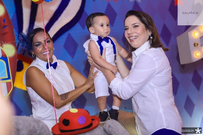 Gil Santos, Bento e Denise Bezerra