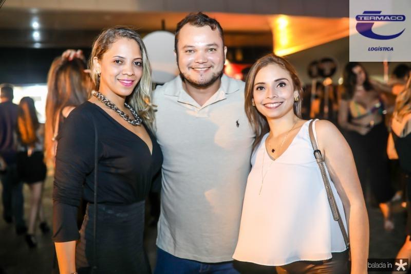 Nayara Costa, Henrique Morais e Livia Martins