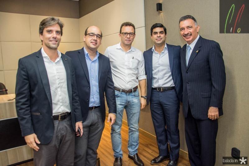 Ruy do Ceara, Arthur Ferraz, Antonio Vidal, Queiroz Filho e Artur Bruno