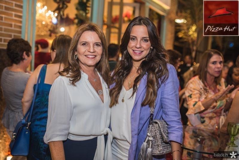 Gena e Fernanda Levy