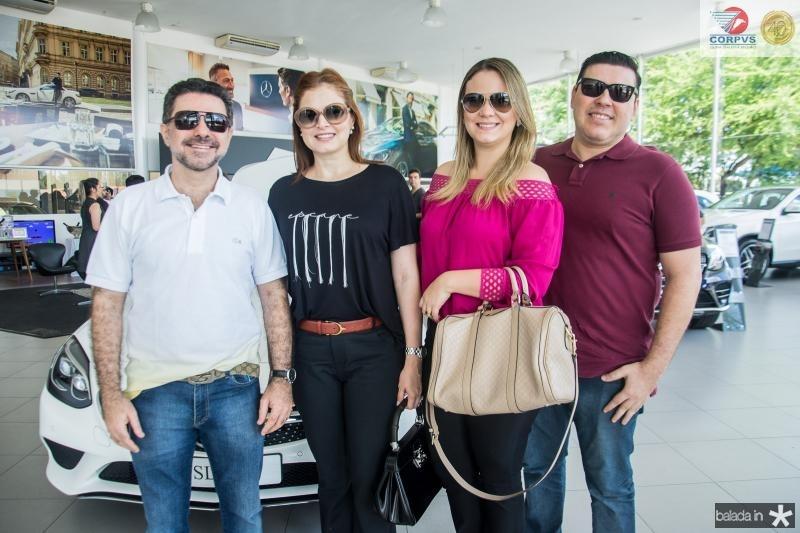 Isaac Furtado, Cheyla Furtado, Gabriela Mota e Roner Ramos