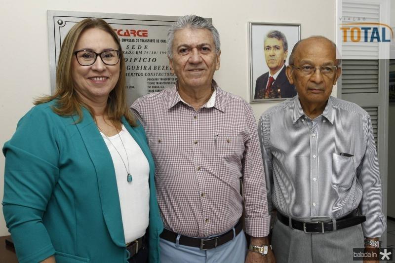 Airtes Cruz, Clovis Nogueira e Argeu Monteiro