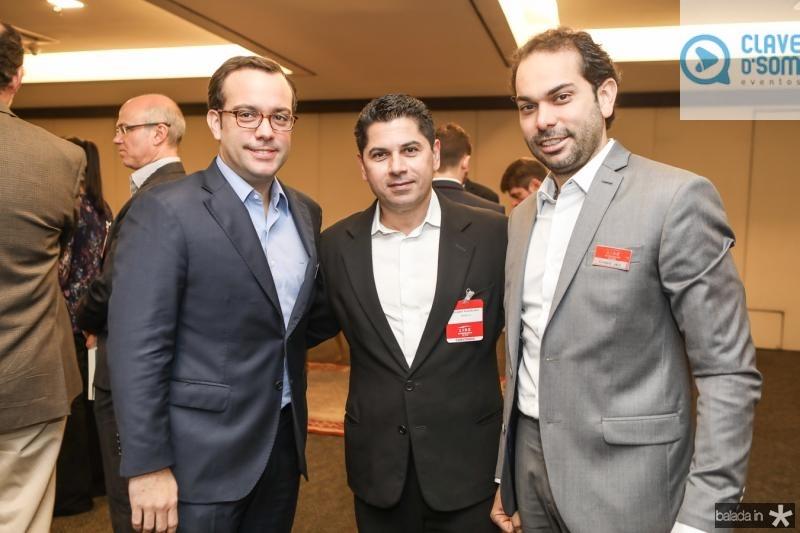Ivo Machado, Pompeu Vasconcelos e Claudio Vale