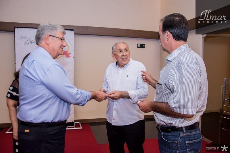 Carlos Maia, Luis Carlos Correa e Armando Abreu