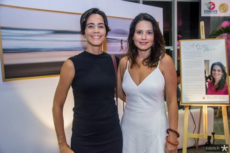 Karine Studart e Renata Vale