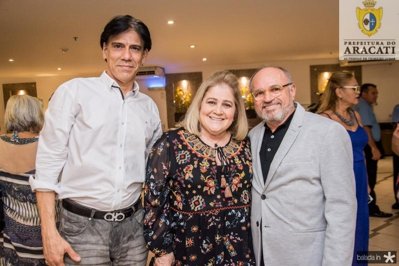 Wilson Loureiro, Isabel Figueiredo e Ivan Figueiredo