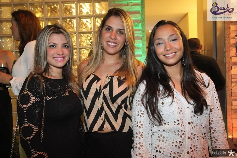 Jamille Ponce de Leon, Nathalia Oliveira e Sumirrara Lee