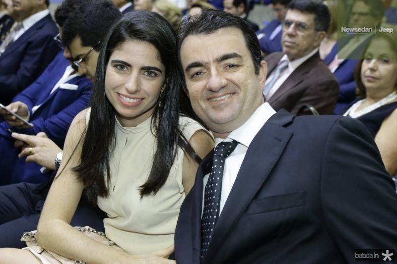 Luciana e Serginho Benevides