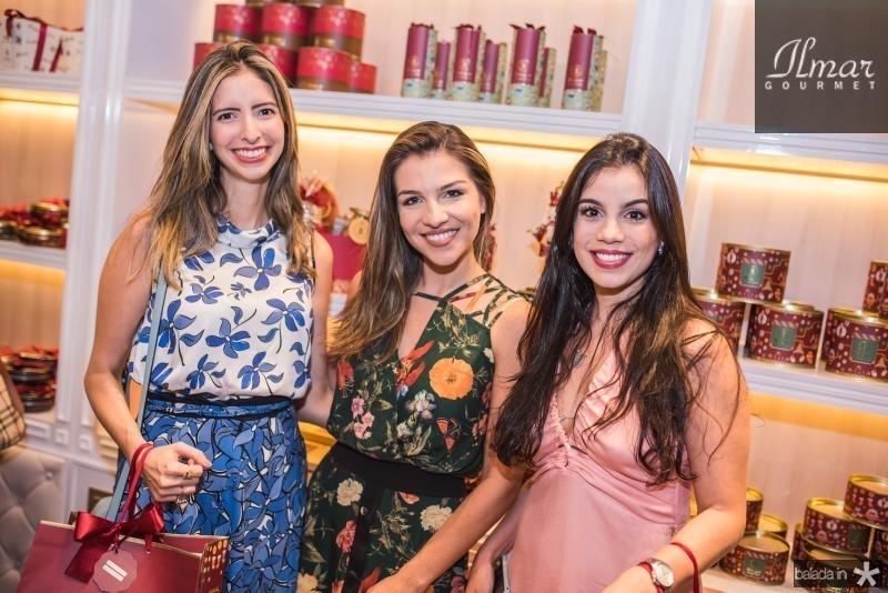 Consuelo Nobrega, Alyne Bezerra e Marcella Torres de Melo