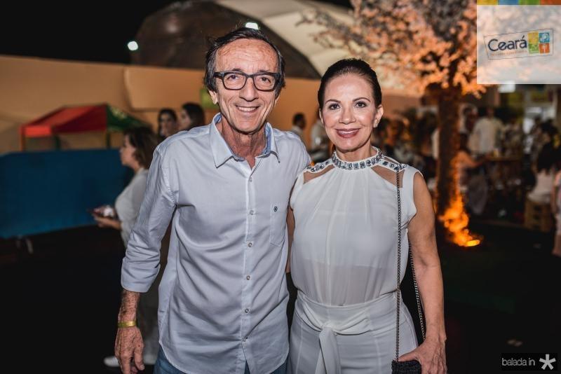 Fernando Bezerra e Cristina Bezerra