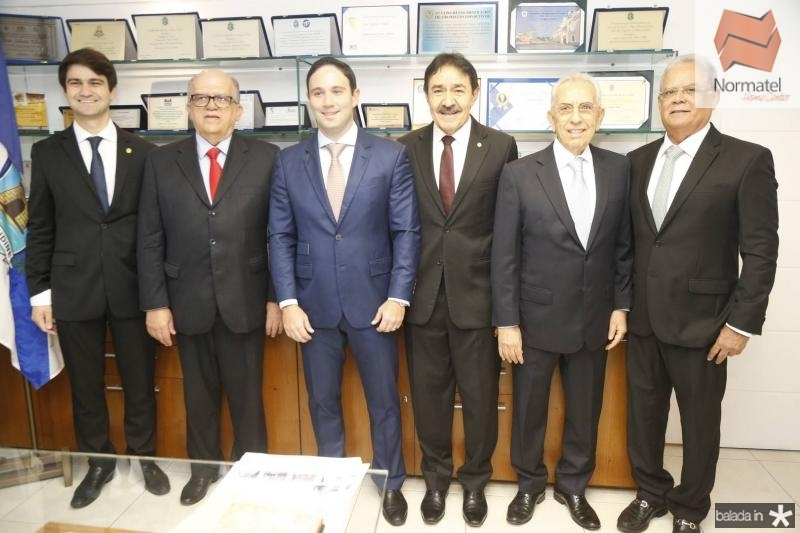 Pedro Gomes de Matos, Fernando Ximenes, Thiago Asfor, Raimundo Gomes de Matos, Paulo Ponte e Jose Maria Lima