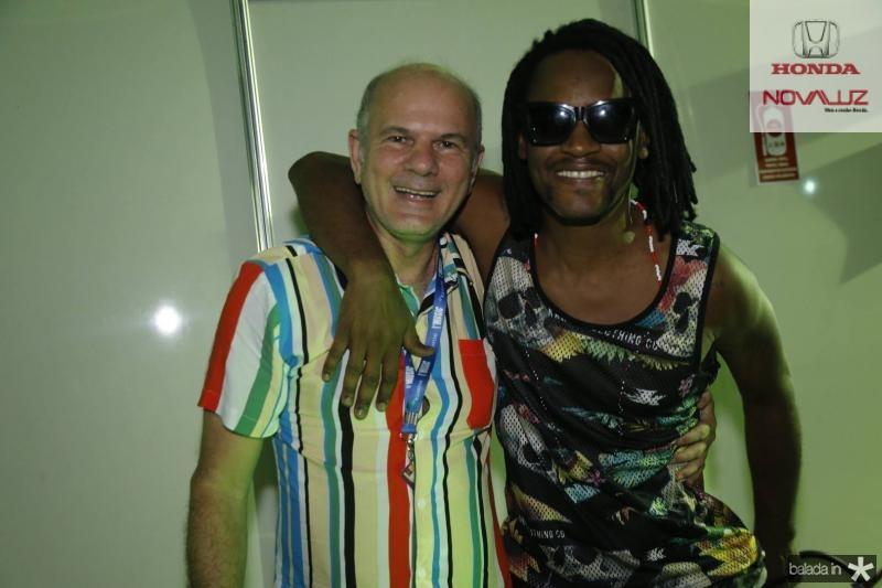 Joao Carlos Diogenes e Tony Garrido