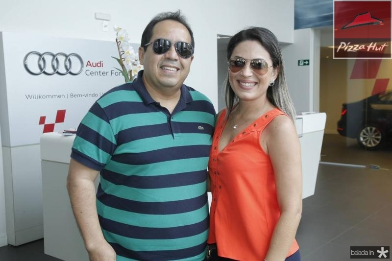 Fabio Sales e Gerlane Cavalcante